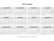 Single page (horizontal grid)